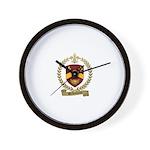 BELHUMEUR Family Crest Wall Clock