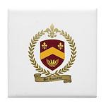 BELHUMEUR Family Crest Tile Coaster