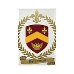 BELHUMEUR Family Crest Rectangle Magnet (10 pack)