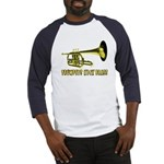 Trumpets Kick Brass Baseball Jersey