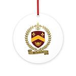 BELHUMEUR Family Crest Ornament (Round)