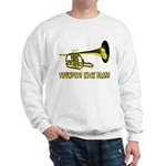 Trumpets Kick Brass Sweatshirt