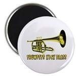 Trumpets Kick Brass Magnet