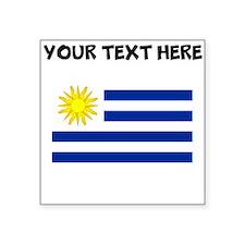 Custom Uruguay Flag Sticker