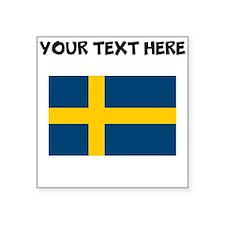 Custom Sweden Flag Sticker