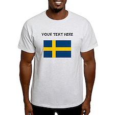 Custom Sweden Flag T-Shirt