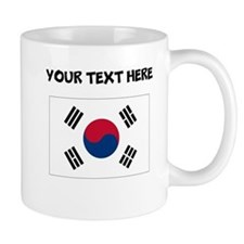 Custom South Korea Flag Mugs