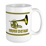 Trumpets Kick Brass Large Mug