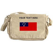 Custom Samoa Flag Messenger Bag