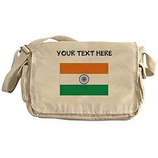 Custom India Flag Messenger Bag