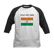 Custom India Flag Baseball Jersey