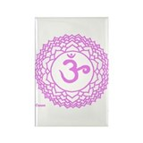 Crown Chakra Rectangle Magnet (100 pack)