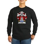 Couto Family Crest Long Sleeve Dark T-Shirt