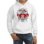 Couto Family Crest Hooded Sweatshirt