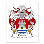 Couto Family Crest Small Poster