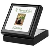 St. Bernadette of Lourdes Keepsake Box