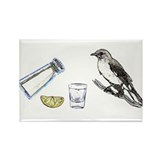 Tequilla Mockingbird Rectangle Magnet (10 pack)