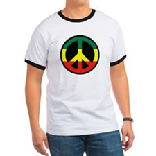 PEACE SIGN REGGAE T