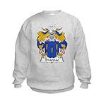 Brandao Family Crest Kids Sweatshirt