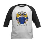 Brandao Family Crest Kids Baseball Jersey