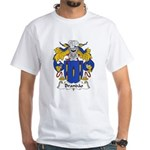 Brandao Family Crest White T-Shirt