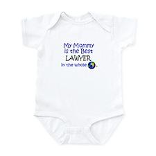 Best Lawyer In The World (Mommy) Onesie