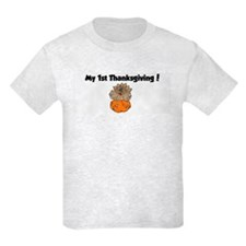 Cool My 1st turkey day T-Shirt