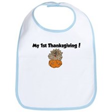 Cool My 1st turkey day Bib