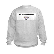 Unique My 1st turkey day Sweatshirt
