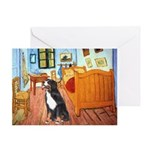 A Room with a Bernese Greeting Card