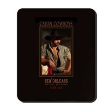 Cajun Cowboys Mousepad