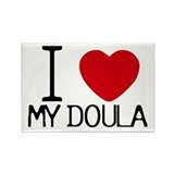 Doulas Rectangle Magnet (100 pack)