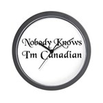 The Canadian Wall Clock