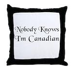 The Canadian Throw Pillow
