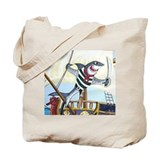 Pirate Shark Tote Bag