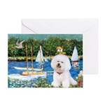 Sailboats (1) Greeting Card