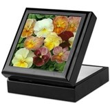 MORE PANSIES Keepsake Box