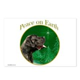 Peace on Earth brindle Postcards (Package of 8)