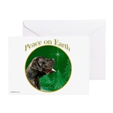 Peace on Earth brindle Greeting Cards (Pk of 20)
