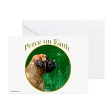 Peace on Earth apricot Greeting Cards (Pk of 10)