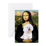 Mona's Bichon Greeting Cards (Pk of 20)