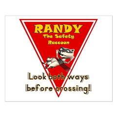 Randy Raccoon Posters