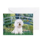 Bridge & Bichon Greeting Cards (Pk of 20)