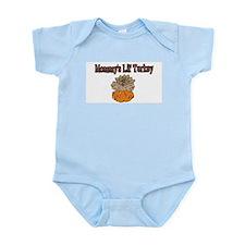Cute Mommy's little turkey Infant Bodysuit