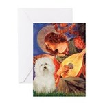 Mandolin Angel & Bolognese Greeting Card