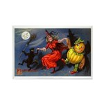 Halloween Witch Rectangle Magnet (10 pack)
