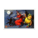 Halloween Witch Mini Poster Print