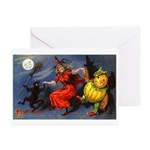 Halloween Witch Greeting Cards (Pk of 20)