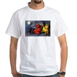 Halloween Witch White T-Shirt