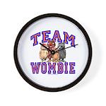 Team Wombie Wall Clock